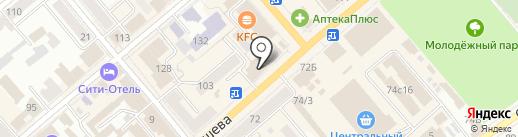 ВИЗА ТУР на карте Кургана