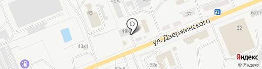 Эко-Дом 45 на карте Кургана