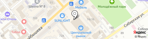 ЭкспрессФото на карте Кургана