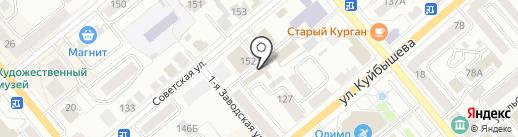Алькасар на карте Кургана