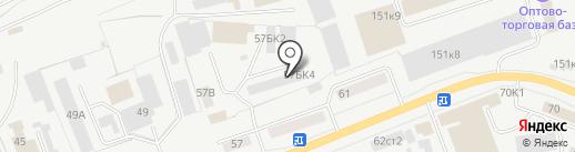 МТК УРАЛ на карте Кургана