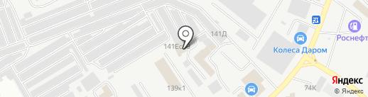Ераз на карте Кургана
