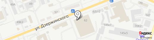 Промуголь на карте Кургана