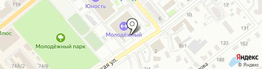 Областная СДЮСШОР №2 на карте Кургана