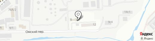 Роснефть-Курганнефтепродукт, ПАО на карте Кургана