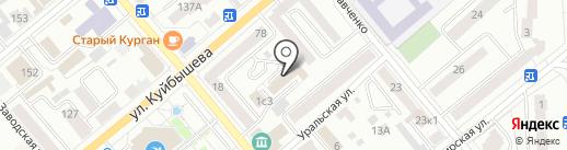 Стеклосервис на карте Кургана
