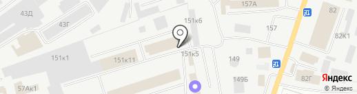 Заурал Пак на карте Кургана