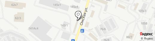 Тандем-К на карте Кургана