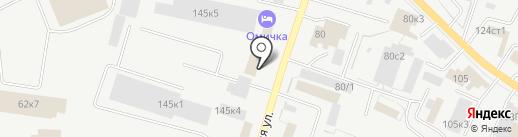 Кредо-М на карте Кургана