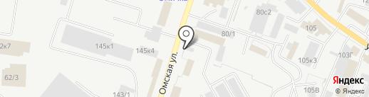 Профнастил на карте Кургана