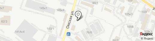 Брус-Хаус на карте Кургана