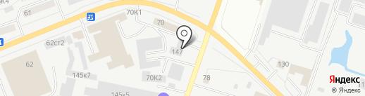 Автофаворит на карте Кургана
