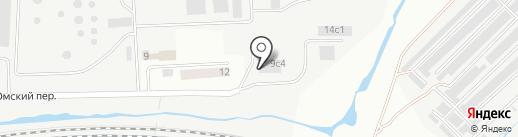 Маник на карте Кургана