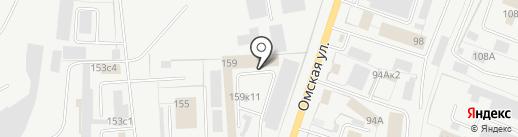 ЭКСПОТОРГ на карте Кургана