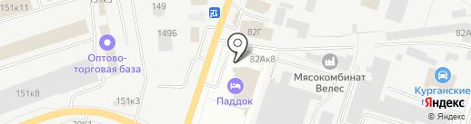 Ford на карте Кургана