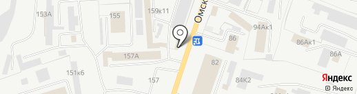 Торговая фирма на карте Кургана