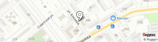 Адвокатские кабинеты Пережегина А.Ю. и Пережегиной Е.К. на карте Кургана