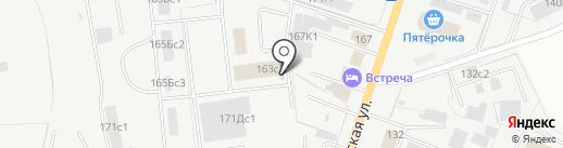 Дорожник-М на карте Кургана