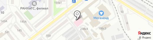 КУБ на карте Кургана