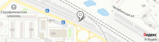 Автомастерская на карте Кургана