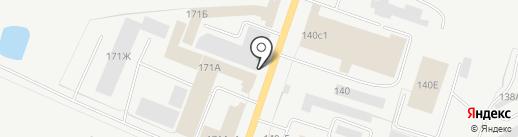 Альфа-Бизнес на карте Кургана