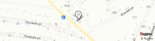 Рябинка на карте Тюмени