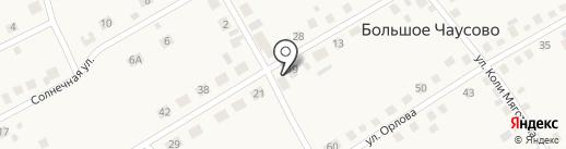 Аптечный пункт на карте Большого Чаусово