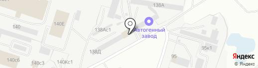 Гостиничный комплекс на карте Кургана