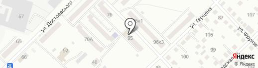 Библиотека им. Ф.М. Достоевского на карте Кургана