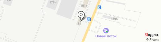 Элькор на карте Кургана