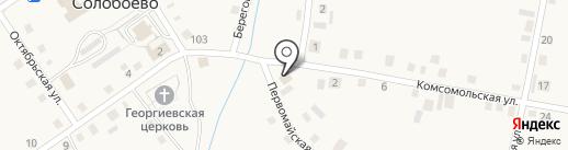Продуктовый магазин на карте Солобоево