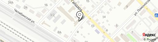 Okey на карте Кургана