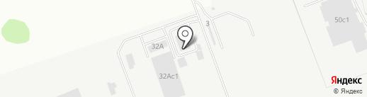Проминвест на карте Тюмени