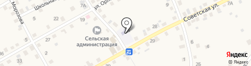 Большечаусовский детский сад на карте Большого Чаусово