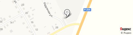 Гагаринскремтехпред, ПАО на карте Большого Чаусово