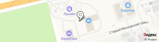 ЕвроАзия на карте Московского