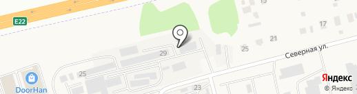 Альфа-строй на карте Московского