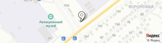 Спутник на карте Кургана