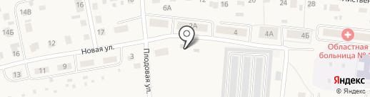 Отдел наблюдений на карте Московского