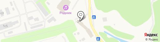 Магазин мясных полуфабрикатов и копченостей на ул. Бурлаки на карте Московского
