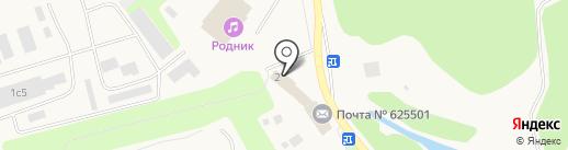 Авангард на карте Московского
