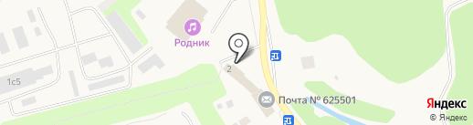 Банкомат, Запсибкомбанк, ПАО на карте Московского