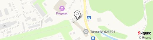 НИИ сельского хозяйства Северного Зауралья на карте Московского