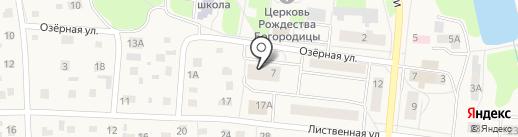 Парикмахерская на карте Московского