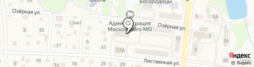 Милосердие на карте Московского