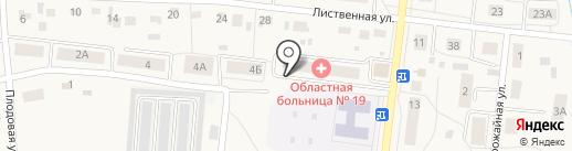 Московская амбулатория на карте Московского