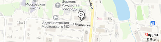 Государственный аграрный университет Северного Зауралья на карте Московского