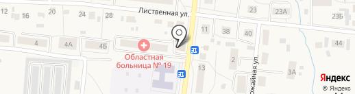 Класс-B на карте Московского