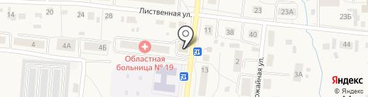 Варвара на карте Московского