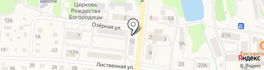 Меркурий на карте Московского